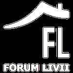 Logo forum livii bianco