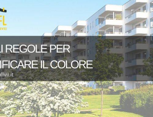 Quali regole per modificare il colore della facciata