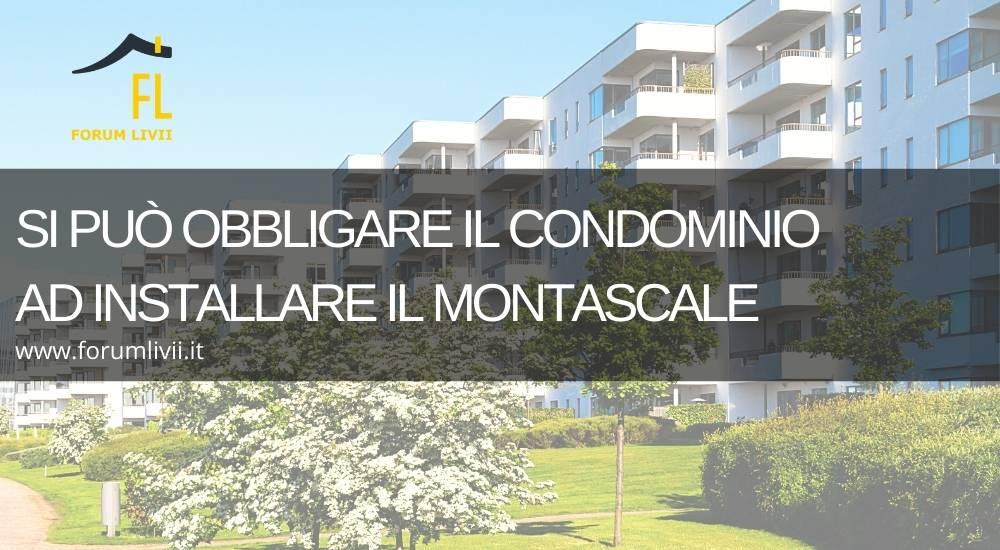 Si può obbligare il condominio ad installare il montascale
