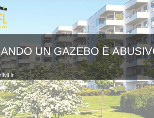 Quando un gazebo è abusivo?