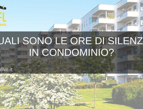 quali sono le ore di silenzio in condominio?